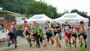 Start zum Schülerlauf. (Foto: SCHW)