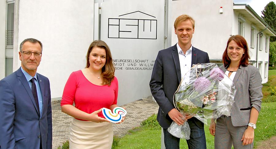 """Schmidt & Willmes 200. Mitglied im Verein """"Wirtschaft für Südwestfalen"""""""