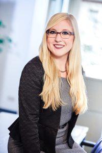 """Projektleiterin """"Heimvorteil"""": Sandra Schmitt (Foto: Wirtschaftsförderungsgesellschaft)"""