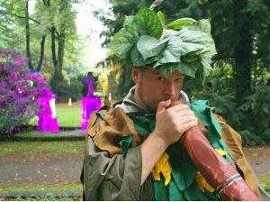 Fedor Vitus Thadeus kommt mit seiner Didgeridoo-Werkstatt. (Foto: Veranstalter)
