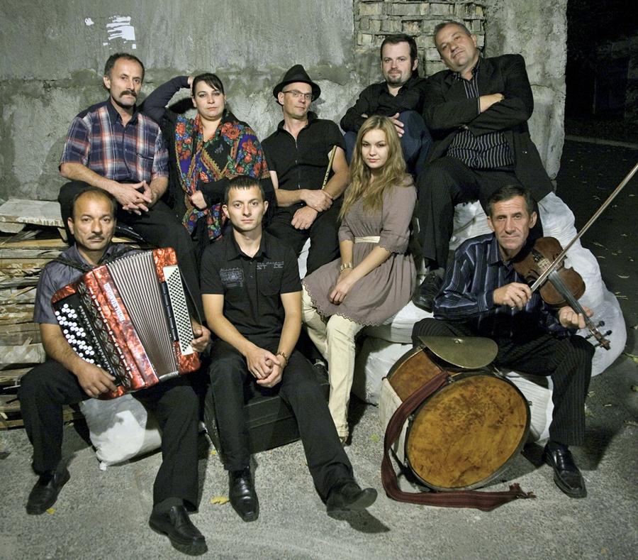 Die Hudaki Village Band aus den ukrainischen Karpaten. (Foto: Veranstalter)