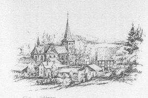Alle drei Jahre gibt es einen Weihnachtsmarkt rund um die Laurentiuskirche in Enkhausen.